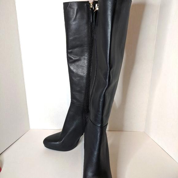 Nine West Quiz Me Platform Boots Black
